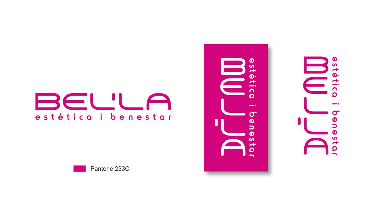 Logotip Bel'la Centre d'Estètica