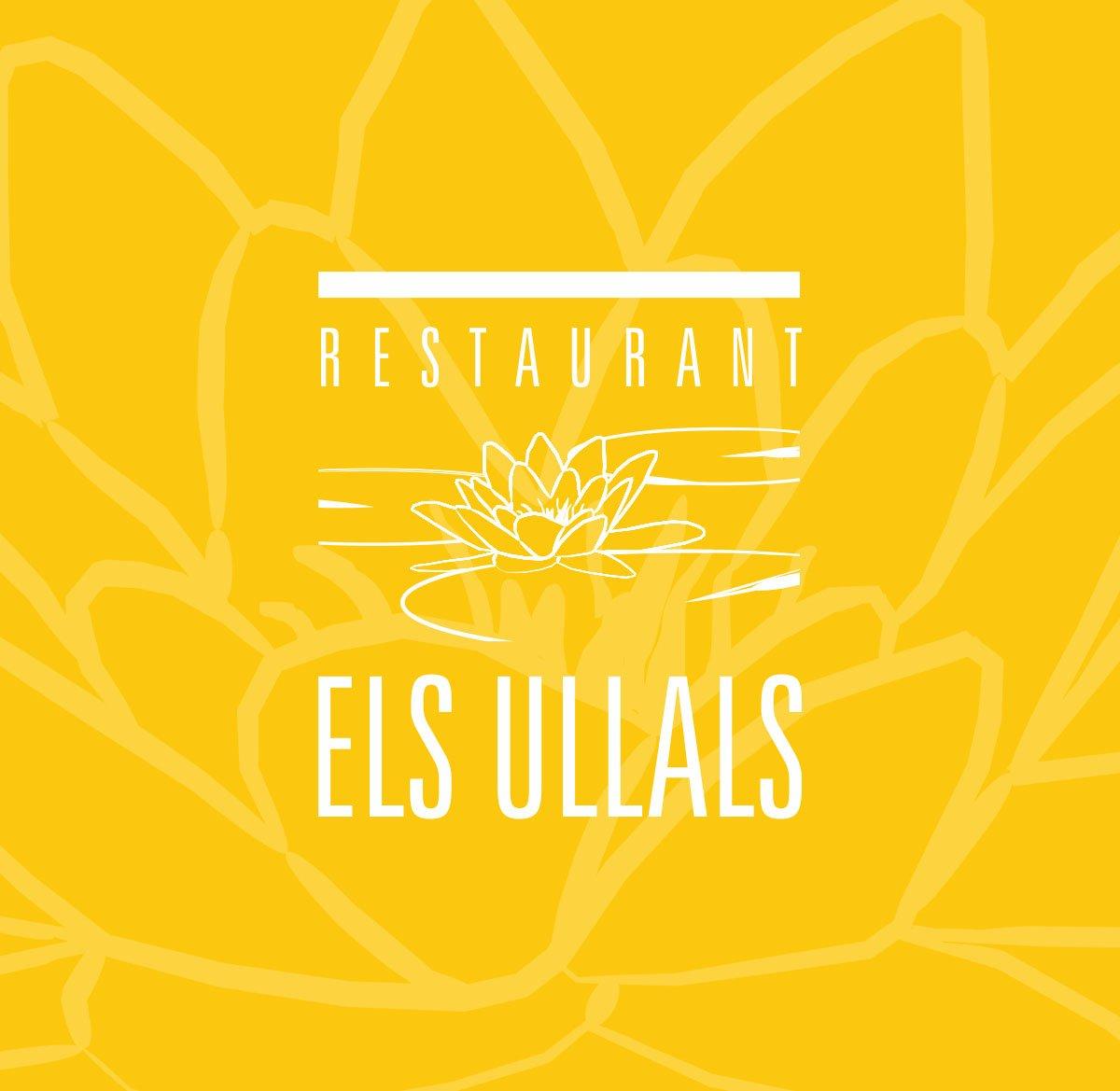 Logotip negatiu sobre groc 2 Els Ullals