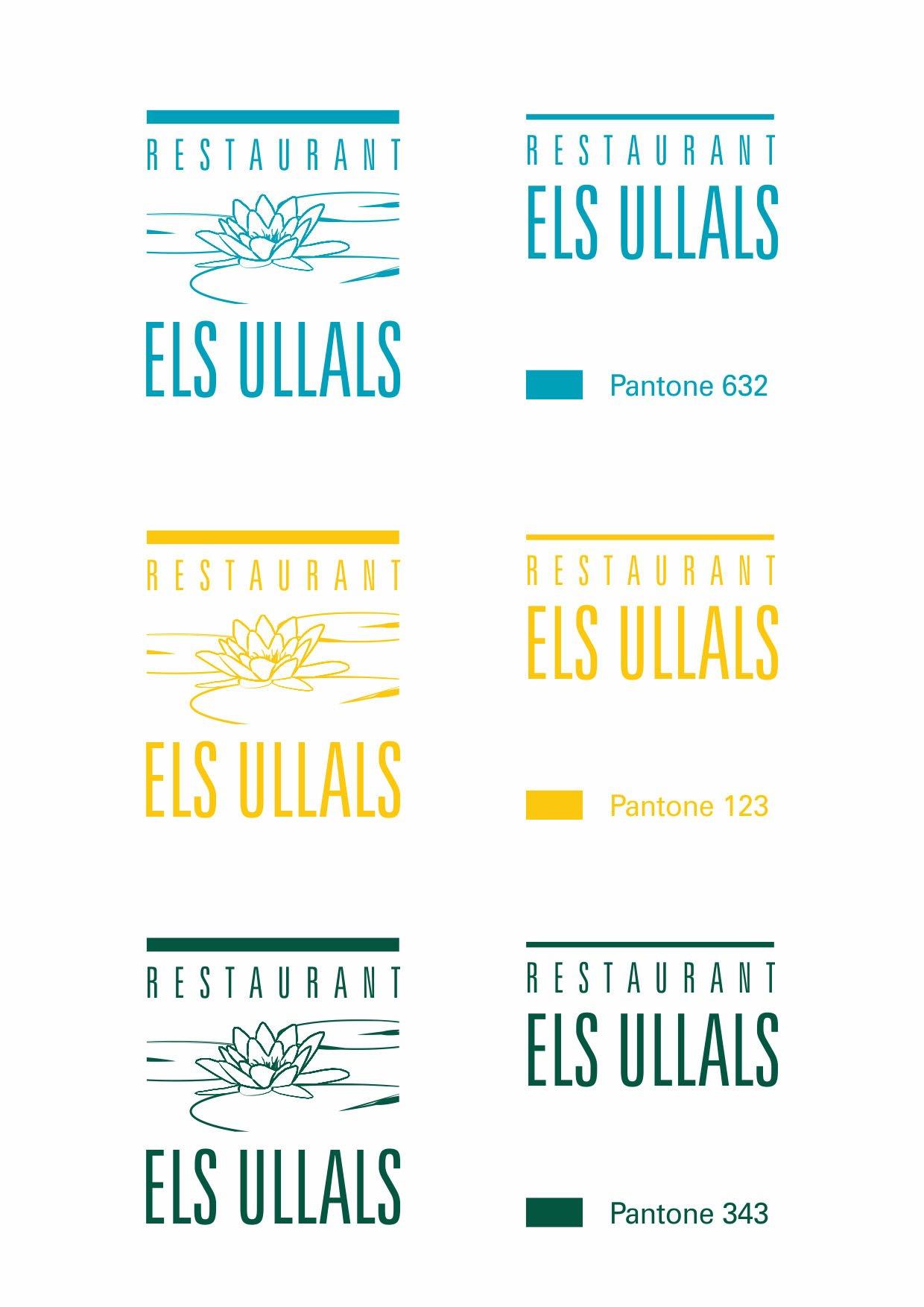 Variants logotip Els Ullals